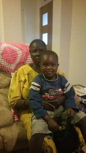 Adaul and grandson