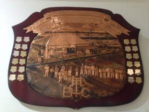 Bowls club shield
