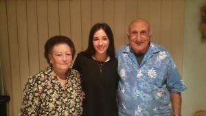 Maria, Jeanette and Aurelio